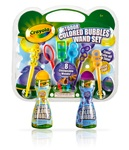 Outdoor Colored Bubbles Wand Set