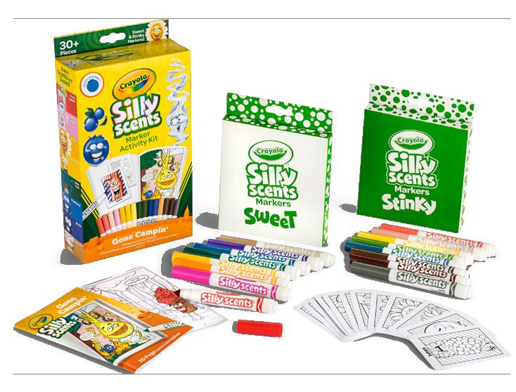 Silly Scents | Markers, Crayons, Pencils | Crayola.com | crayola.com