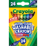 24 count Ultra Clean Washable Crayons