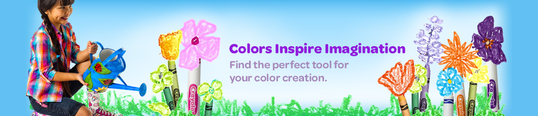 Colors Inspire Imagination