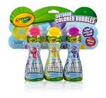 Outdoor Colored Bubbles 3 Pack