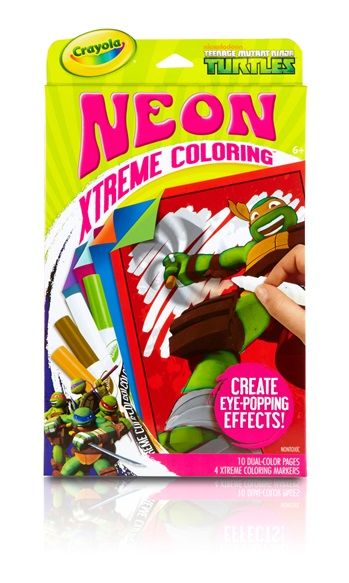 Neon Extreme Coloring Teenage Mutant Ninja Turtles