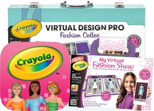 My Virtual Fashion Show Crayola Com