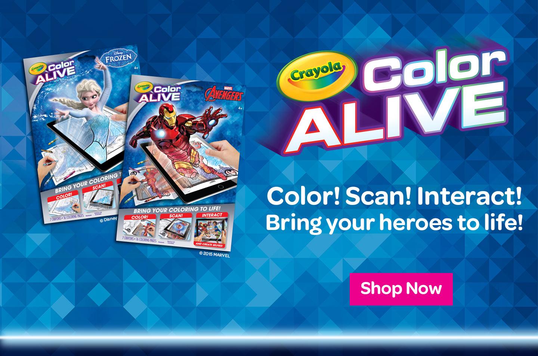 Crayola Color Alive Interactive Coloring Pages Crayola Com