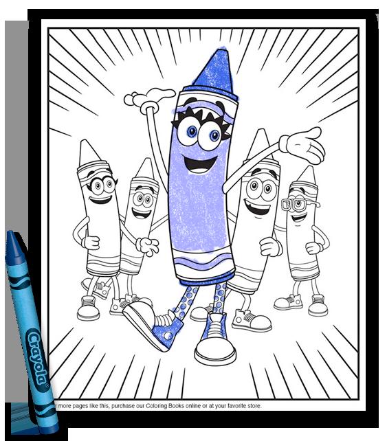 Meet Bluetiful | Crayola | crayola.com