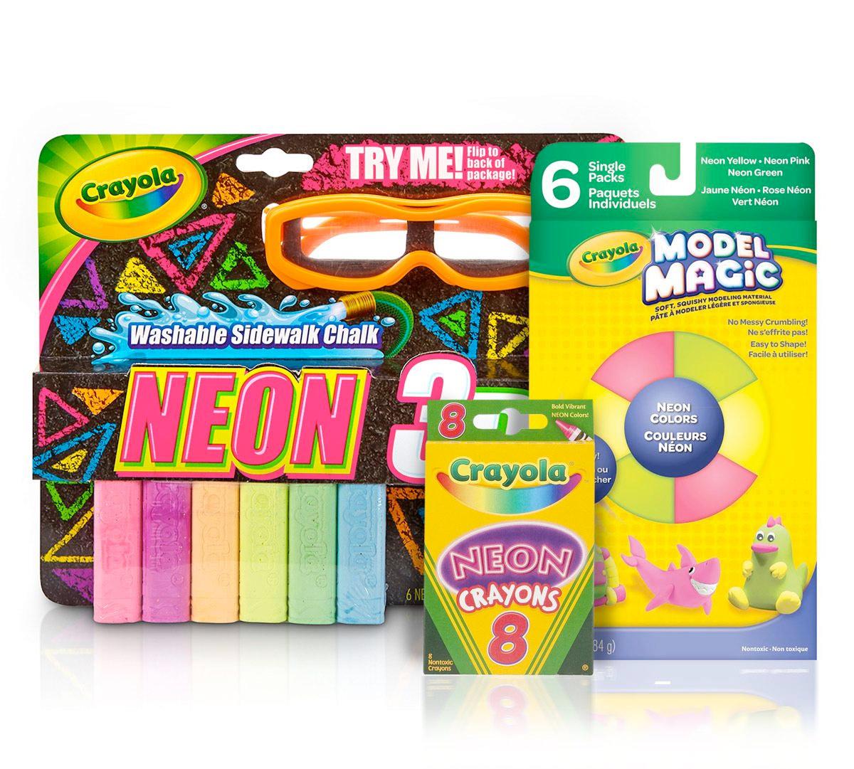 Easter gift guide crayola crayola easter basket stuffers neon art supplies negle Gallery