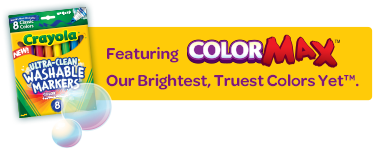 Featuring ColorMax, Our Brightest, Truest Colors Yet™