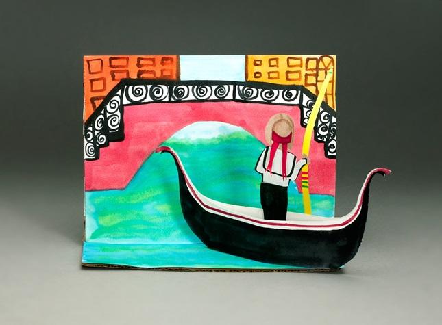 Glide Along a Veian Canal Craft crayola
