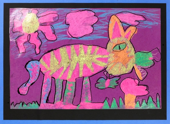 My Cat artwork