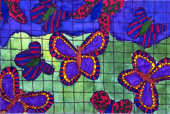 Butterflies are Free to Fly artwork