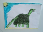THE DINOSAUR artwork