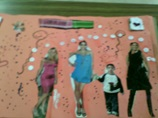 """Fashion"" by Melissa Cajigas, Grade 2 artwork"