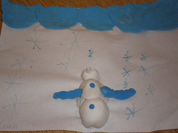Frosty Snowman artwork