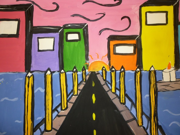 Road to School artwork