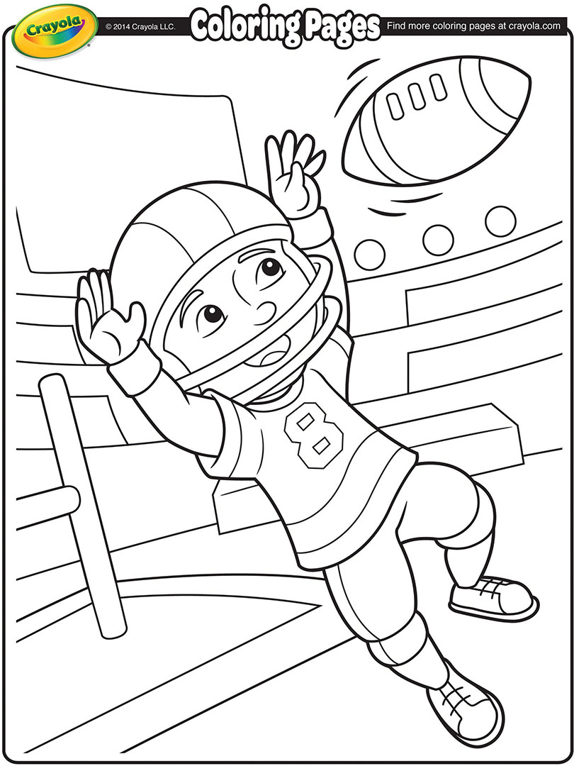 Nfl Coloring Pages Pdf : Nfl football player coloring pages seattle seahawks