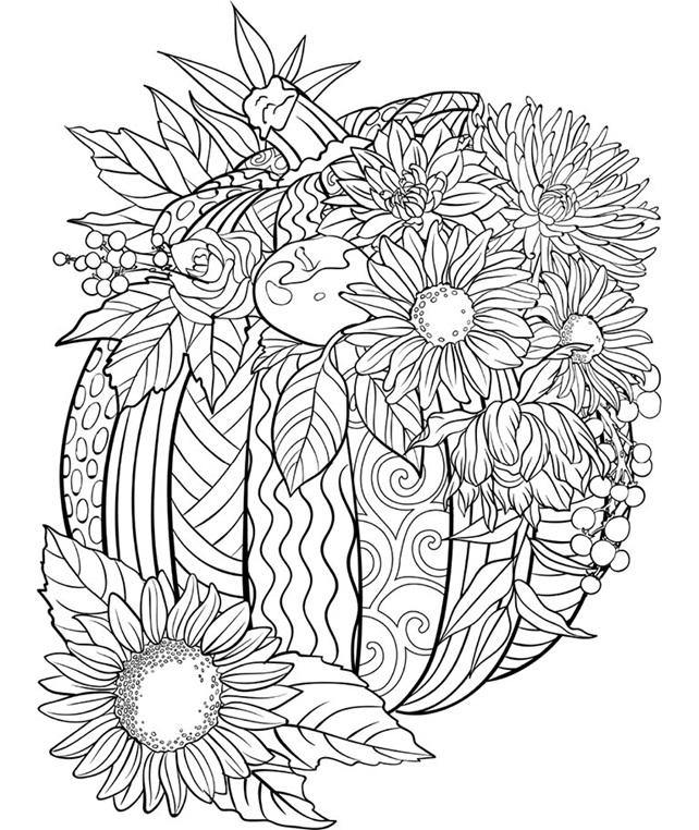 Coloring pages with pumpkins ~ Pumpkin Coloring Page | crayola.com