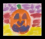 Jumping Jack-o'-Lanterns craft