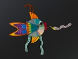Flashy Fish Disks craft