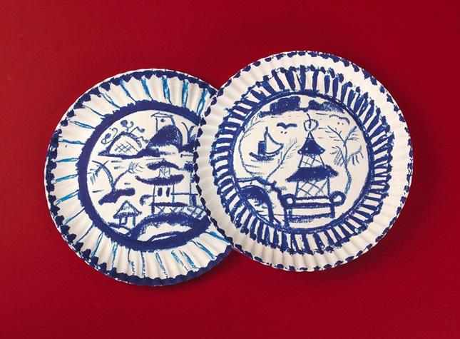 Pretty Decorative Plates Decorative Chinese Plates
