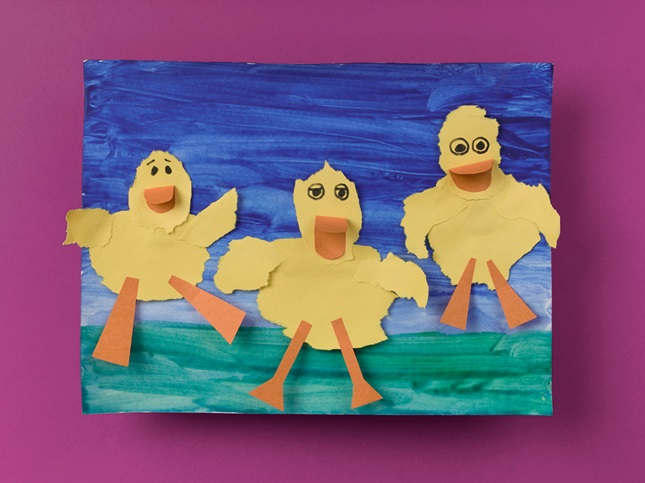 Ducks in a Pond craft