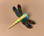 Dazzling Dragonfly Wings craft
