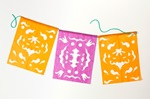 Colorful Cut-Paper Banners craft