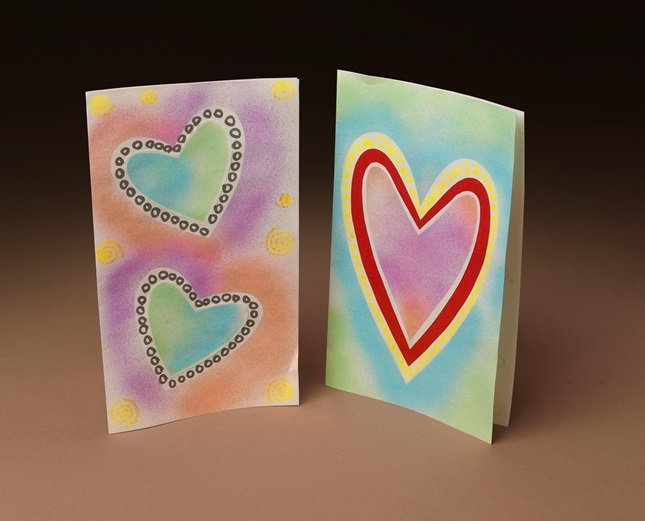 Spray Your Own Cool Valentines! craft
