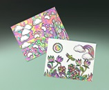 Colorful Rainforest Swirls craft
