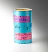 Changeable Fundraising Container craft