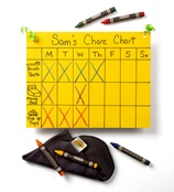 Weekly Chore Chart craft