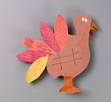 Turkey Tic-Tac-Toe craft