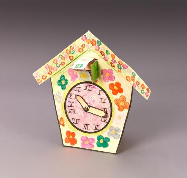 Floral Cuckoo Clock Craft