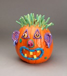 Pumpkin Jack-o'-Lantern craft