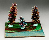 Sparkling Pine Forest craft