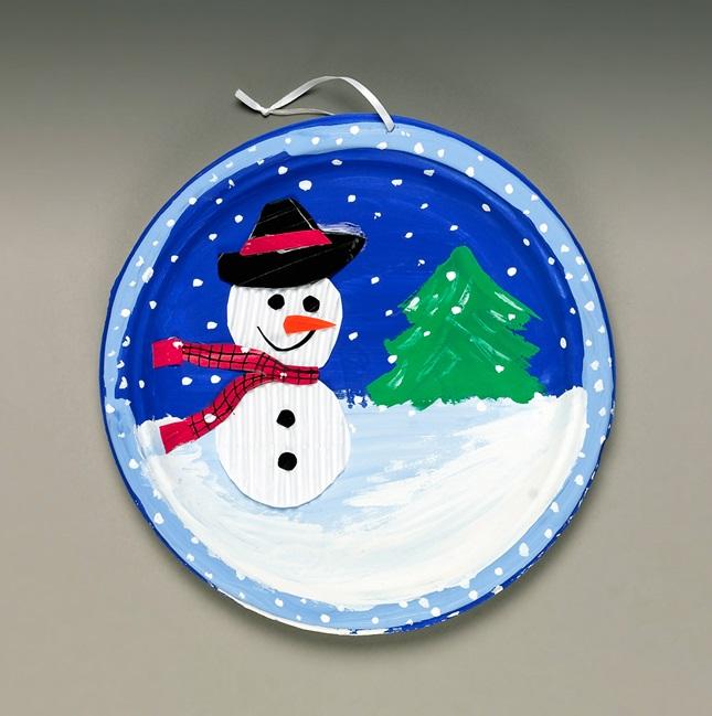 Ripply Snow Sculpture Craft Crayola Com
