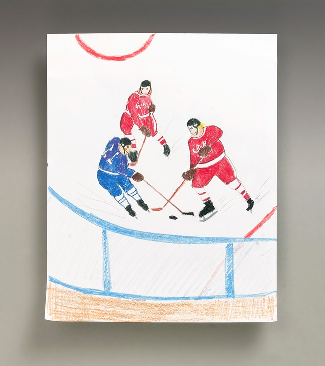 Hockey Heroes craft