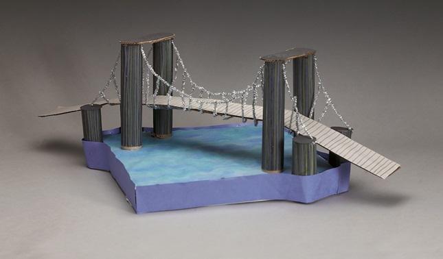 Suspension Bridge Craft   crayola.com