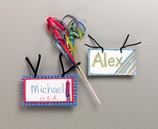 Bike Streamers & Plates craft