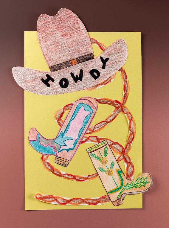 Ten Gallons & Toes in Texas Craft | crayola.com