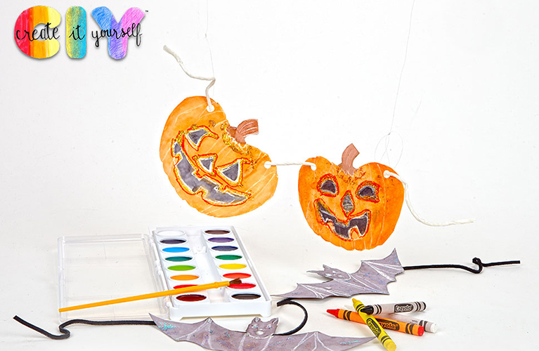 Create It Yourself Spooky Garland