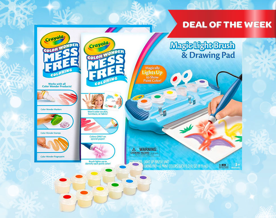 40% Off Color Wonder Magic Light Brush Deluxe Kit