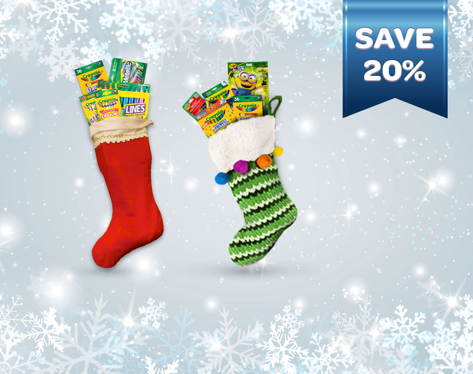 Save 20% Off 5 Crafty Stocking Stuffers