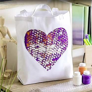 Heart Print Roller
