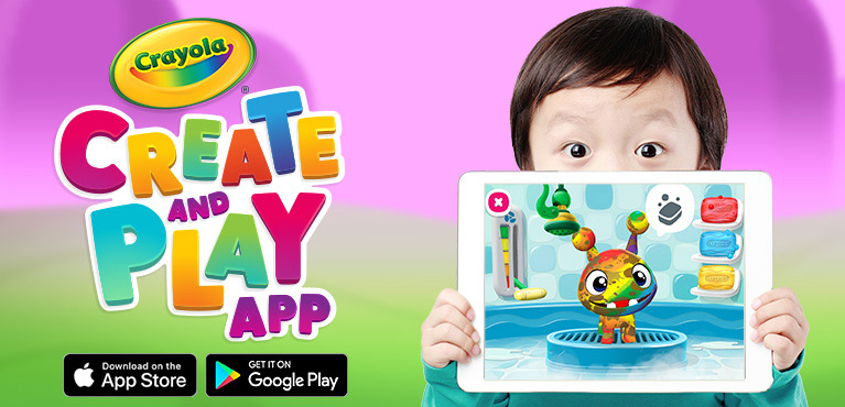 Crayola Create and Fun app