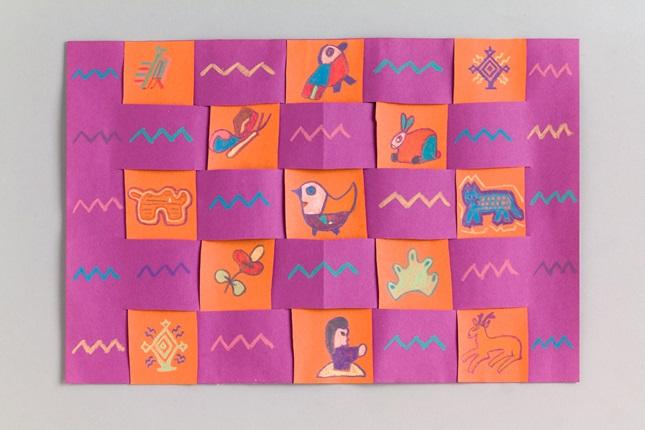 Classroom Design Paper : Fiesta mats crayola