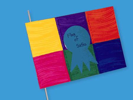 Fraction Flags crayolacom