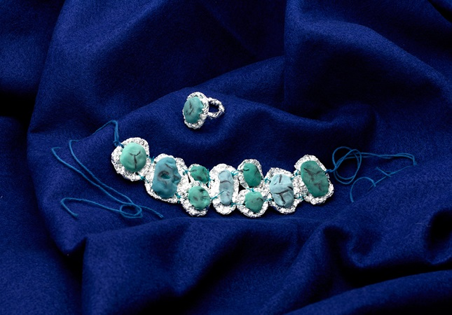 Southwestern Silver & Turquoise lesson plan
