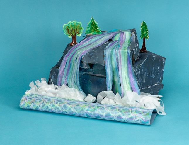 Shimmering Waterfall Crayolacom