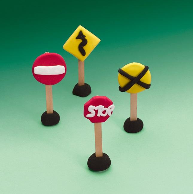 street sign safety crayolacom