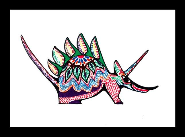 Magical oaxacan animals crayola